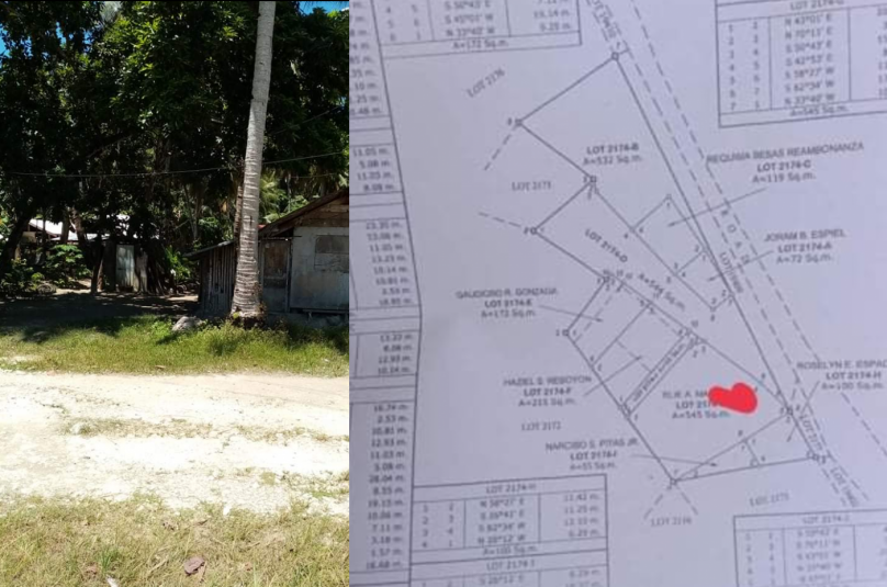 545 sqm Lot For Sale along the road in General Luna Siargao