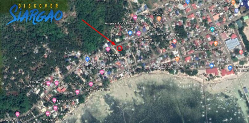 74 sqm Siargao Commercial Lot For Lease. General Luna Area