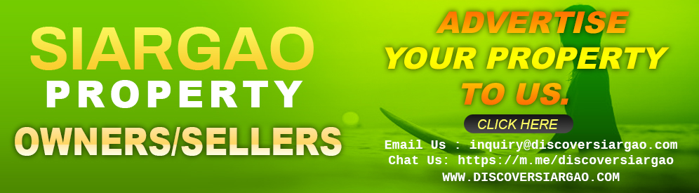 Siargao Property Owners or Sellers