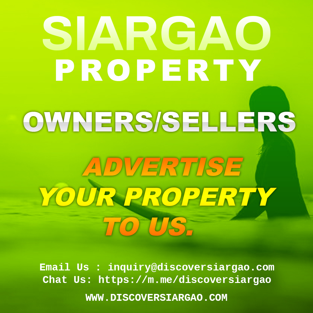 Advertise Properties For Sale in Siargao Island Surigao Philippines