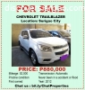 For Sale Chevrolet Trailblazer in Surigao City