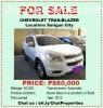 For Sale Chevrolet Trailblazer in Surigao City