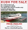 Pump Boat RUSH FOR SALE! in Siargao